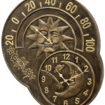 SPI-Home-33761-Sun-and-Moon-Clock-and-Thermometer-0