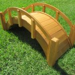 SamsGazebos-Miniature-Japanese-Waterproofed-Wood-Garden-Bridge-25-Inch-Tan-0-1