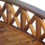 SamsGazebos-Swan-Wood-Garden-Bridge-with-Cross-Halved-Lattice-Railings-6-Feet-Brown-0-1