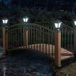 Sunjoy-L-BG018PST-D1-Mortlake-Garden-Bridge-7322-by-3464-by-4291-Inch-0-1