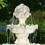 Sunnydaze-Four-Tier-White-Electric-Water-Fountain-with-Fruit-Top-52-Inch-Tall-0-1