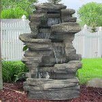 Sunnydaze-Stacked-Shale-Electric-Outdoor-Waterfalll-with-LED-Lights-38-Inch-Tall-0-0