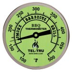 Tel-Tru-BQ300-Barbecue-Thermometer-3-inch-glow-dial-with-zones-25-inch-stem-100500-degrees-F-0