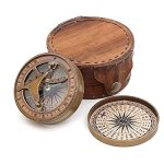 Thoreaus-Go-Confidently-Notation-Engraved-Heavy-Brass-Sundial-Compass-with-Leather-Case-0-0