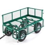 VonHaus-All-Terrain-Heavy-Duty-Garden-Cart-770lbs-Load-Capacity-Folding-Sides-and-10-inch-Off-Road-Tires-0-1