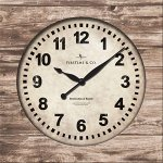 Weathered-Square-Wall-Clock-0