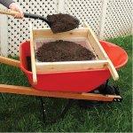 Wheelbarrow-Sifter-for-Compost-and-Soil-Handmade-0