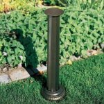Whitehall-Products-Roman-Aluminum-Sundial-Pedestal-00690-26-inches-high-with-a-8-inch-diameter-base-french-bronze-0
