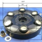 Wiedamark-Super-bright-LED-Fountain-Light-Ring-with-6×60-LEDs-total-360-LEDs-0