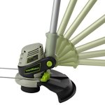 LawnMaster-CLGT2412-24-Volt-Li-On-Cordless-Pro-Grass-Trimmer-12-Inch-0-2
