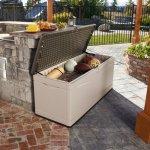 130-Gallon-Deck-Box-Lockable-Lid-Dual-Wall-Weather-Resistant-Polyethylene-0