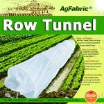 30FT-Long-Agfabric-Hoop-House-Kit-Mini-Greenhouse-Grow-Tunnel-09oz-Floating-Row-Cover-with-Tunnel-HoopsPlant-Cover-Frost-Blanket-for-Season-Extension-and-Seed-Germination-0
