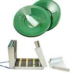 50-Long-Folding-Sluice-Box-2-10-Green-Gold-Pans-Snuffer-Bottle-Kit-0