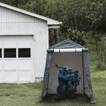 Abba-Patio-Storage-Shelter-6-x-8-Feet-Outdoor-Carport-Shed-Heavy-Duty-Car-Canopy-Grey-0-0