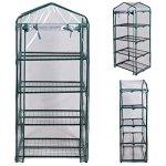 BUY-JOY-4-Shelves-Green-house-Portable-Mini-Outdoor-Green-House-Brand-New-Garden-0