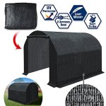 BenefitUSA-Green-House-Replacement-Black-color-Cover-for-Green-house-Frame-NOT-Include-0-0