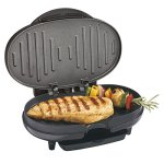 Black-Cast-Aluminum-Compact-Electric-Grill-0