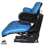 Blue-FordNew-Holland-6000-6600-6610-7000-7100-7200-7600-7610-7700-TRAC-Brand-Waffle-Style-Universal-Tractor-Suspension-SEAT-0-0