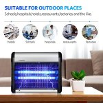Bug-Zapper-Fly-Trap-Mosquito-Killer-Insect-Killer-Home-Night-Lamp-6000-SqFt-Coverage-2800v-Grid-20w-Bulbs-Great-for-Commercial-Industrial-Use-Indoor-Use-100-Refund-Guarantee-for-Our-Insect-Trap-0-2