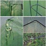 By-Garden-Essentials-MIni-Greenhouse-Compact-Portable-8-Shelves-2-Tiers-Walk-In-Zippered-Door-Color-Green-0-0