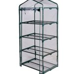 COSTWAY-4-Tier-Shelves-Mini-63-Portable-Greenhouse-Outdoor-Green-Plants-House-Only-by-eight24hours-0