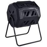 FDInspiration-Black-42-Gallon-PP-Fertilizer-Compost-Tumbler-Garden-Waste-Bin-wAdjustable-Air-Vents-Ebook-0