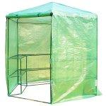 Festnight-Patio-Hexagonal-3-Tier-Shelf-Walk-in-Portable-Garden-Greenhouse-75-0-1