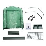 Finether-Greenhouse-with-Clear-Cover-and-Casters-0-2