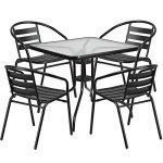 Flash-Furniture-5-Piece-Aluminum-Patio-Dining-Set-0