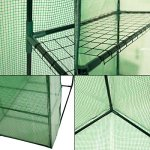GHP-Green-Outdoor-Portable-Mini-Rust-Resistant-8-Shelves-Walk-in-Greenhouse-0