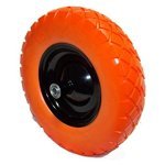 GHP-Set-of-2-16x4x8-Light-Weight-Flat-Free-Foamed-Polyurethane-Wheelbarrow-Tire-0