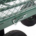 Garden-Carts-Wagons-Heavy-Duty-Utility-Outdoor-Steel-Beach-Lawn-Yard-Buggy-0-2