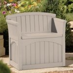 Gardening-and-Lawn-Care-Storage-Containers-Suncast-31-Gallon-Patio-Seat-Stay-Dry-DesignNo-Tools-Needed-and-Great-for-Storing-your-Outdoor-Stuffs-0