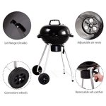 Giantex-Kettle-Charcoal-Grill-wWheels-Shelf-Temperature-Gauge-BBQ-Outdoor-Backyard-Cooking-Black-0-1