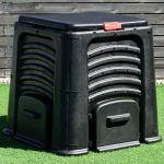Goplus-105-Gallon-Classic-Compost-Bin-Large-Garden-Waste-Bin-Grass-Food-Trash-Fertilizer-Barrel-Soil-Saver-Outdoor-Composter-Black-0-1