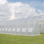 Green-Garden-Hot-House-Walk-In-Clear-Greenhouse-33×13-Sun-Shade-Cover-By-DELTA-Canopies-0-1