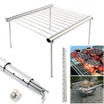 HiHydro-Portable-Camping-Grill-Folding-Compact-Stainless-Steel-Portable-Camping-Picnic-Outdoor-Charcoal-BBQ-Grill-0