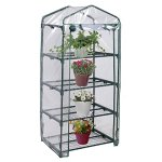 Imtinanz-Modern-Outdoor-Portable-Mini-4-Shelves-Greenhouse-0-1