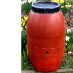 Kitchen-Compost-Collector-for-Outdoor-use-Barrel-Stationary-Single-Chamber-Original-Composter-Tumbler-with-Lid-E-Book-0