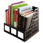 Literature-File-Three-Slots-Black-0