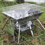 Mini-Camping-Charcoal-Grills-Outdoor-Barbecue-Grill-Basket-Top-Charcoal-Fire-Bridge-Type-Campfire-0-0