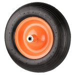 NK-Pneumatic-Wheelbarrow-Air-Tire-with-Ribbed-Tread-6-Inch-Centered-Hub-58-Inch-Bearings-155-Inch-Tire-Diameter-480400-8-0-0