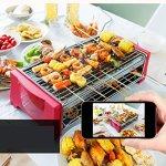 OOOQDUA-Barbecue-student-desktop-equipment-assembled-homemade-seaside-smoke-free-barbecue-rack-0-1
