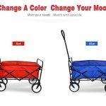 Outdoor-Collapsible-Utility-WagonFolding-Collapsible-Garden-Shopping-Cart-Trolley-Trailer-Steel-Carrier-Wheelbarrow-0-0