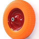 Outdoor-Garden-Utility-Cart-Wheel-Barrow-Wheelbarrow-16-Flat-Free-Tire-Solid-Foam-58-Axle-For-Wagon-Durable-Construction-Skroutz-0-0