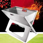 Outdoor-Portable-BBQ-Grill-Stainless-Steel-Charcoal-Barbecue-Grill-for-Camping-Backyard-0-0