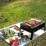 QYU-Folding-Portable-BBQ-Grill-Camping-Lightweight-BBQ-Tools-for-Outdoor-Cooking-Camping-Hiking-Picnics-Tailgating-Backpacking-0-1