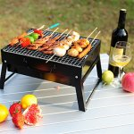 QYU-Folding-Portable-BBQ-Grill-Camping-Lightweight-BBQ-Tools-for-Outdoor-Cooking-Camping-Hiking-Picnics-Tailgating-Backpacking-0