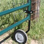 RanchEx-102557-Tall-Gate-Wheel-for-High-Ground-Tube-Gates-Hardware-Included-0-2