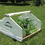 Shelter-Logic-70617-Round-Raised-Bed-Greenhouse-with-Fully-Closable-Cover-4-x-4-x-1-Feet-11-Inch-0-0